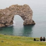 No benches at Durdle Door