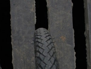 check wear on tyre