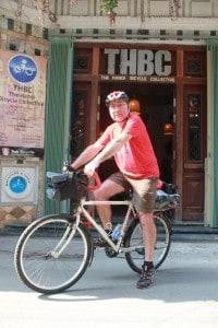 me on bike loaded & ready to go