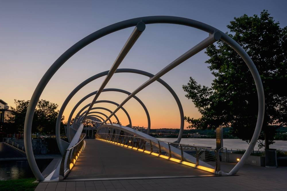 Pedestrian Bridge in the Navy Yard