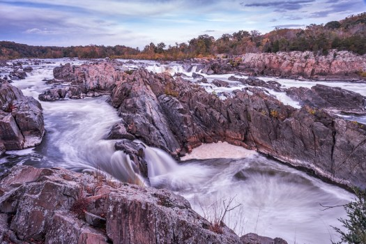The Waterfall in Great Falls, Virginia.