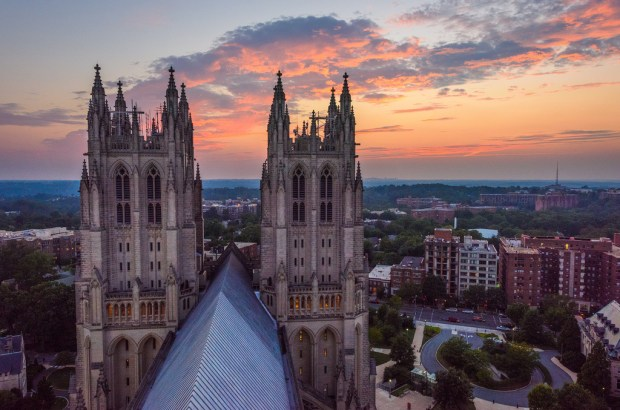 The National Cathedral is one of the best places in DC to photograph.