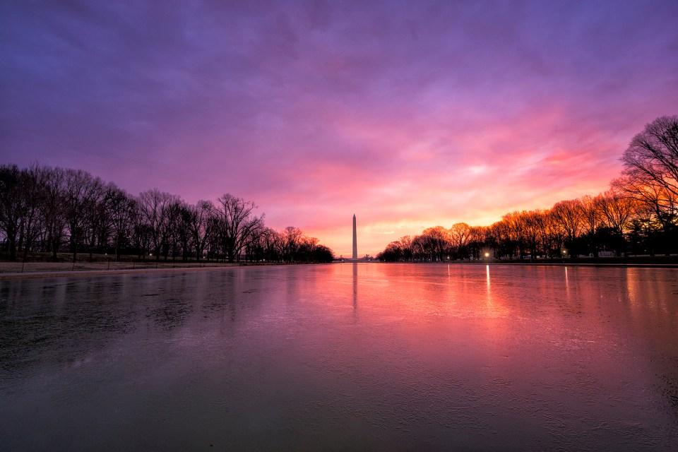The Washington Monument by Angela Pan