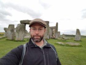 Stonehenge Selfie