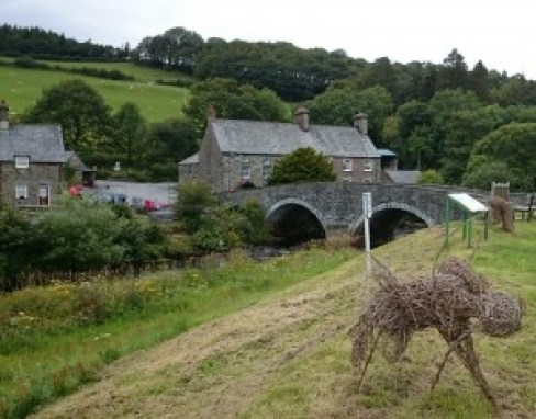 Ysbyty Ifan August 2015  - bridge over the River Conwy