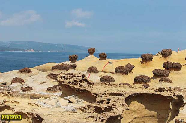 taiwan tourist attractions yehliu geopark