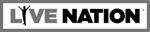 Page d'accueil de Live Nation