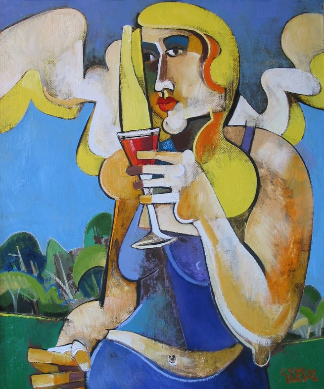 field drinker, oil 2002