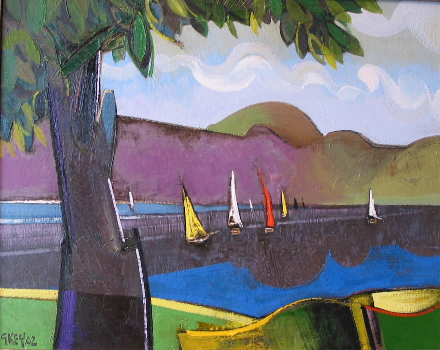 lake bala, oil 2002
