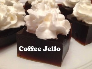 Coffee Jello