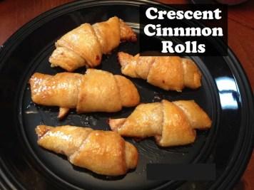Crescent Cinnamon Rolls