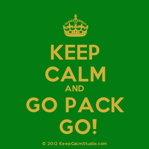 Keep calm and pack