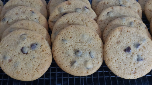 Malted Milk & Chocolate Chip Cookies