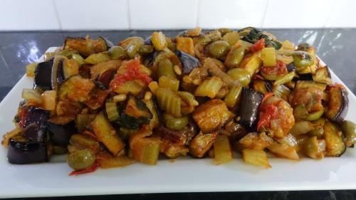 Caponata - A Sicilian Favourite