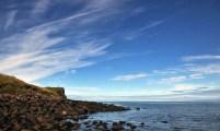 Bouldery shore