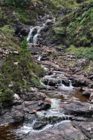 Lower falls, Ollach