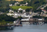 Portree - an aerial view