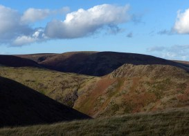 Light and shade on the Mynd