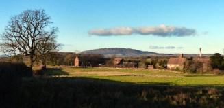 Posenhall and the Wrekin