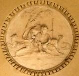 Beheaded bas-relief