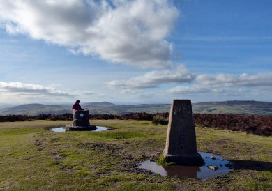 Top of the Mynd