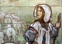 Shepherdess with attitude