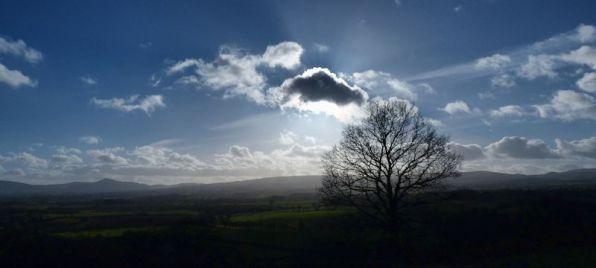 South Shropshire skyline