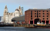 A view from Albert Dock