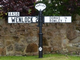 The old road to Wenlock