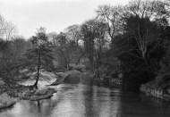 Ludford weir 1976