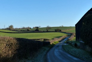The lane from Wyke