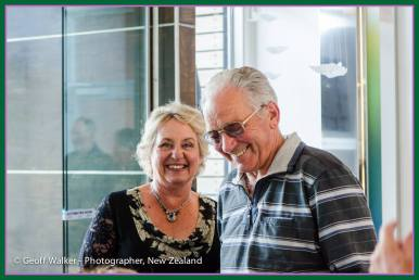 Yvonne and Max Baylis of Carterton get papped!!