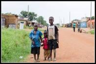 Downtown kids in Rackoko