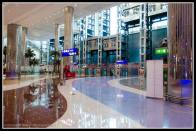 Dubai Airport and transit hotel.