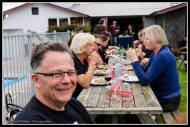 People around Toast Martinborough.