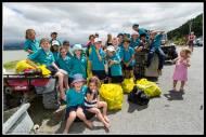 Pirinoa School team clean up!!