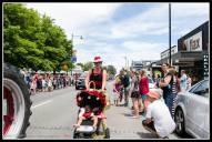 Greytown Xmas Parade - Felicity Robinson one of Vicki's Quackers..