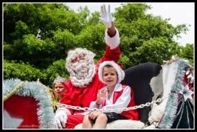 Greytown Xmas Parade - needs a Santa ... with Butler children....