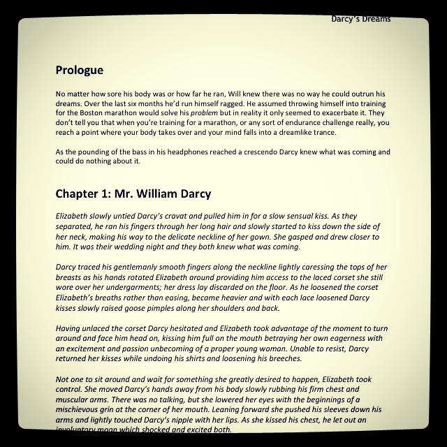 30 x 30: #17 – Finish Pride and Prejudice fan-fiction novel