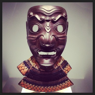 2013 04-21 MFA Samurai! Face Mask