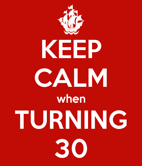 30 Before 30 (30 x 30)