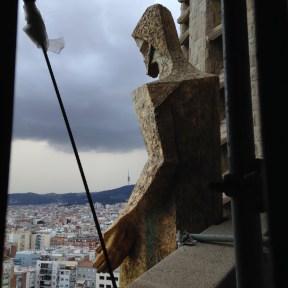 2015 07-18 La Sagrada Familia Statue
