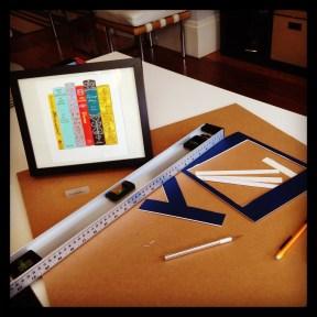 2015 08-08 Framing my Austen Print