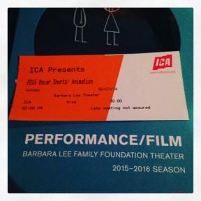 2016 02-21 Oscar Shorts at the ICA