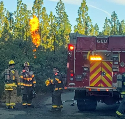 Reported Commercial Fire proves to be a false alarm