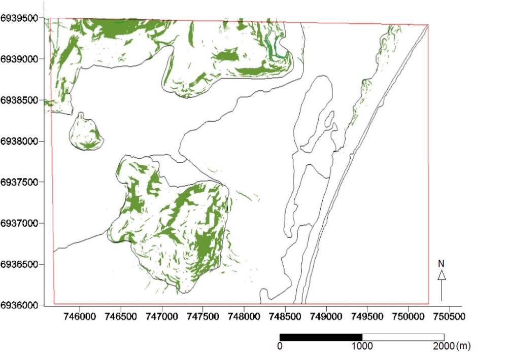 Modelo Digital de Terreno / Modelo de Declividade (3/4)