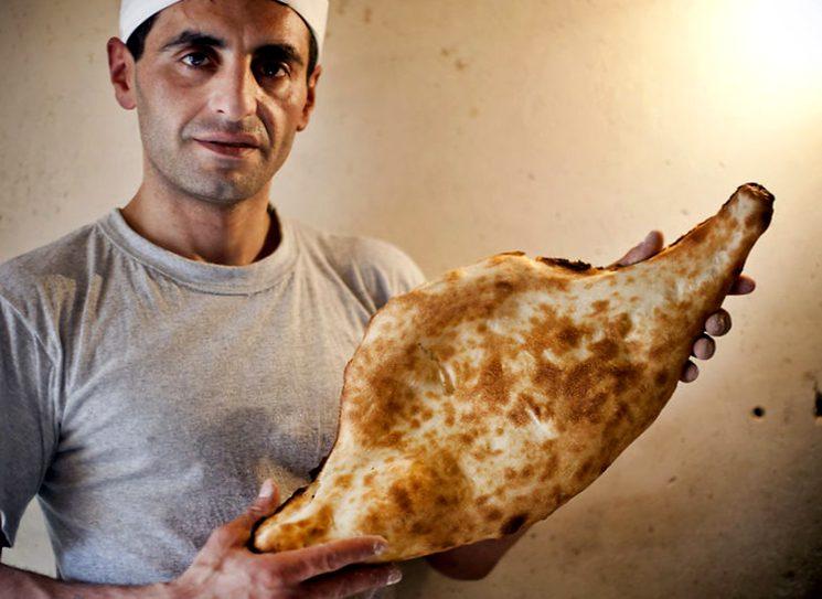 Recept van Georgische lavash