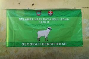 Qurban Himpunan Mahasiswa Pendidikan Geografi