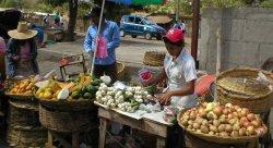 Mercadillo en Nicaragua
