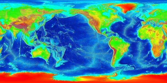 Commons Wikimedia: Mapa de relieve submarino